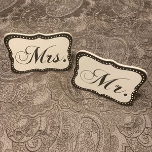 Other - Wedding✨ Mr. & Mrs. Signs❤️🤵🏻👰🏻💍